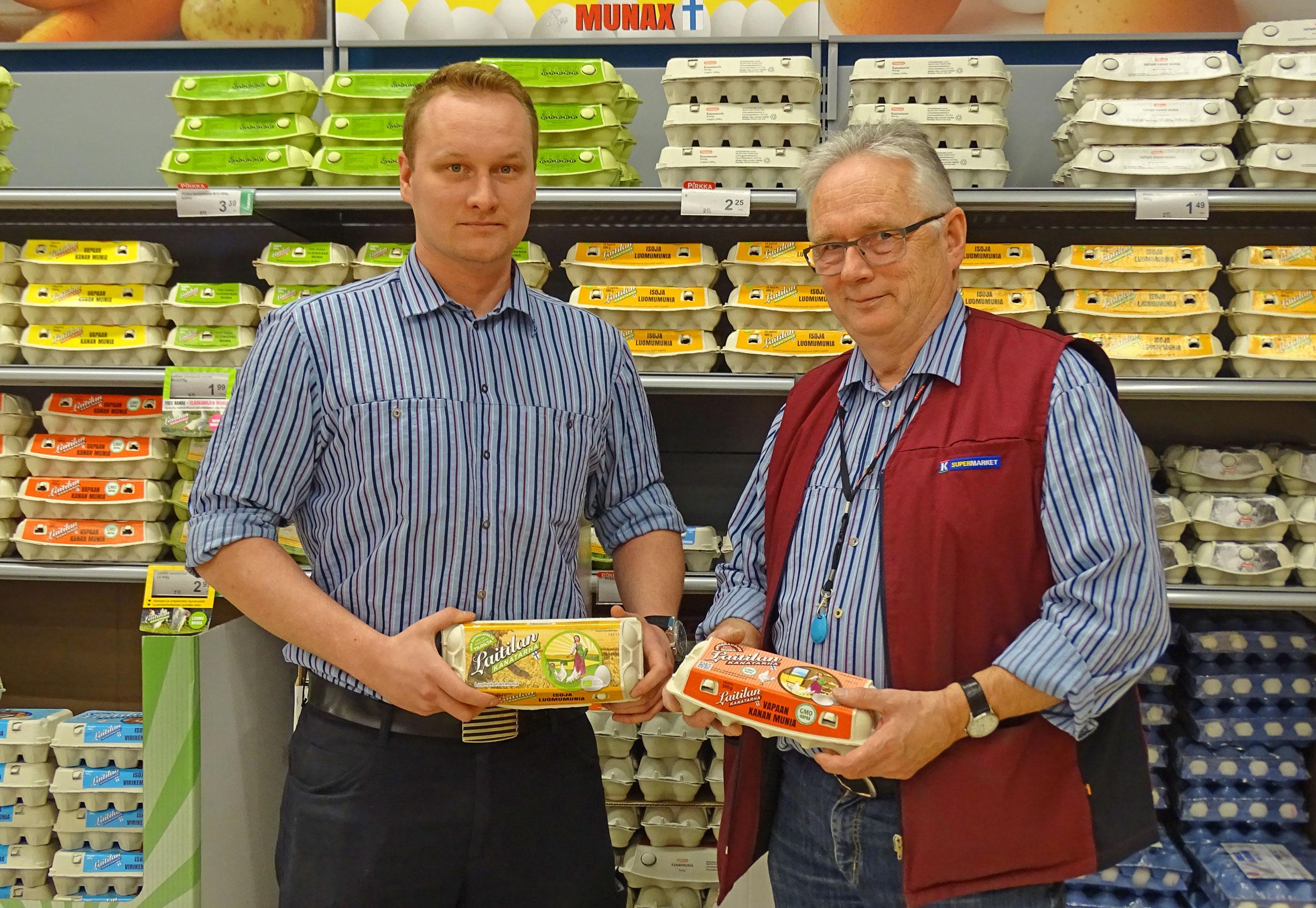 Kuukauden munamyyjä: K-Supermarket, Laitila