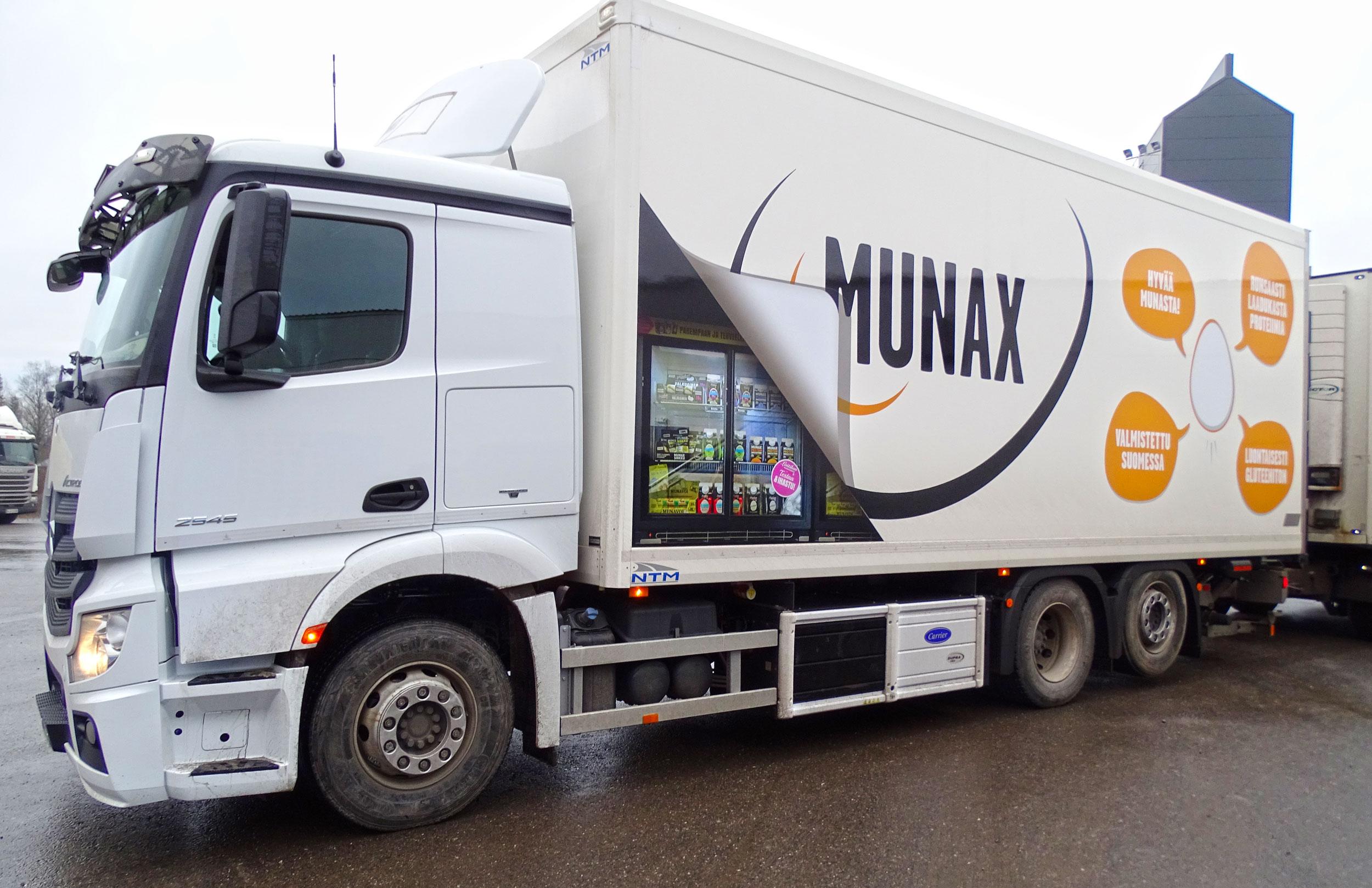 Munaxin rekka sai uuden ilmeen – oletko jo bongannut sen liikenteestä?