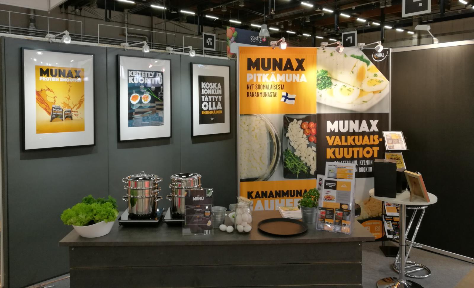Munax mukana Gastro Helsinki -messuilla – nähdään siellä!