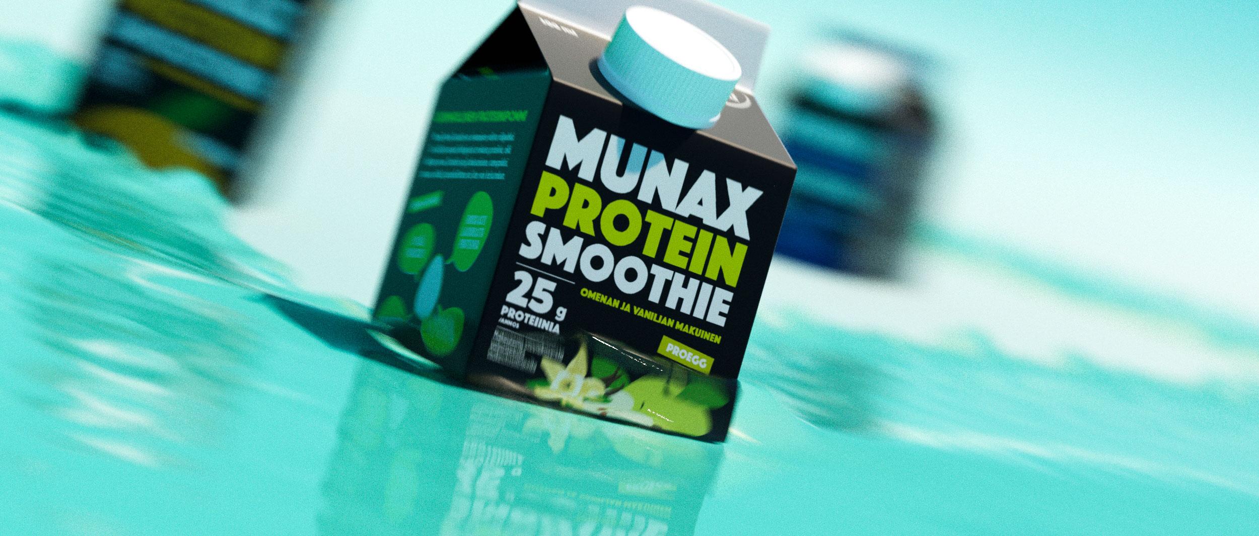 Munax Protein Smoothien tunnussävelmä kajahtelee nyt radioaalloilla