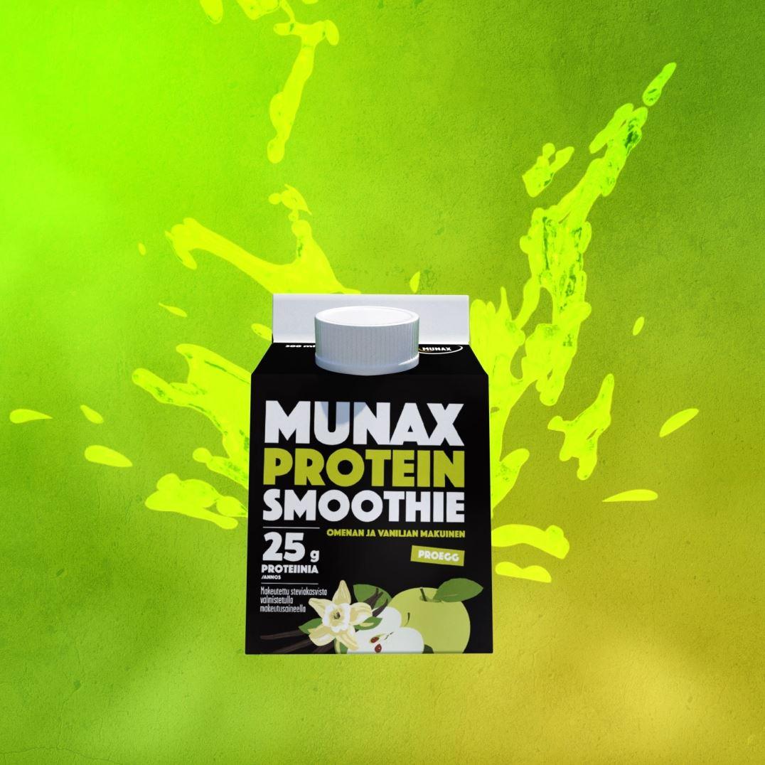 Munax Protein Smoothie makutestissä – näin nuoret reagoivat