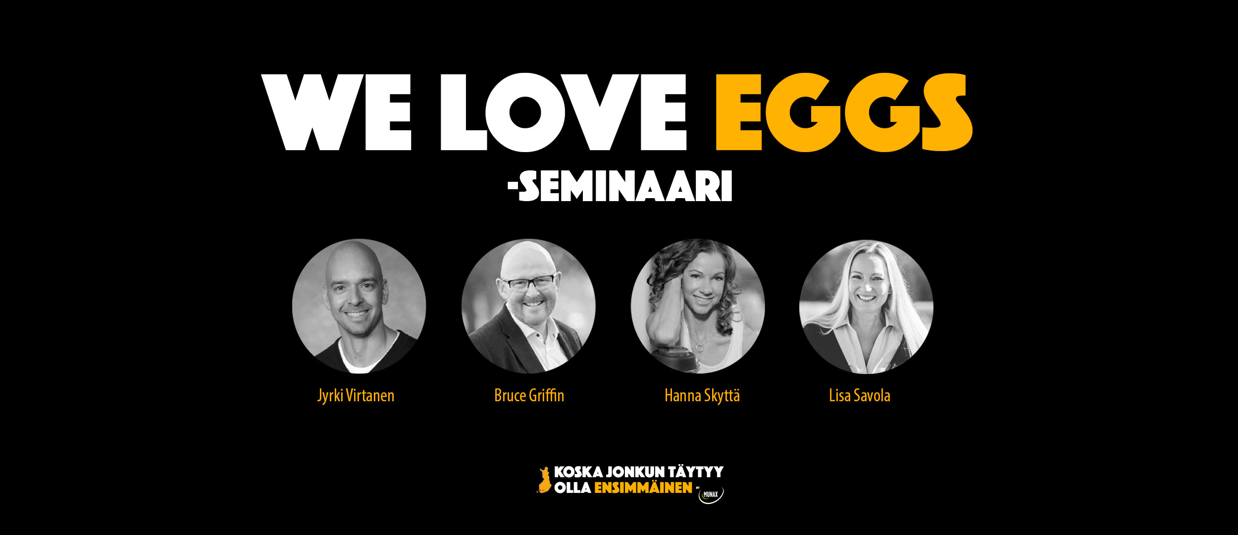 We Love Eggs -seminaari – video