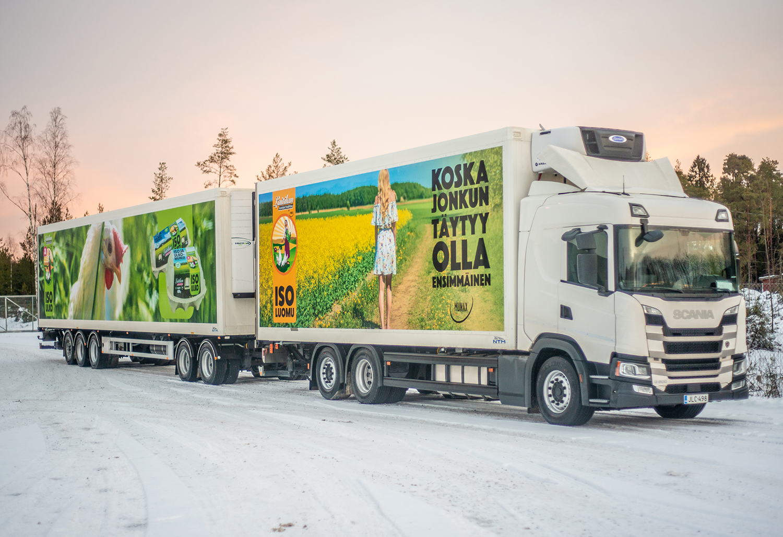 Munaxin uusi ajoneuvoyhdistelmä entistä ympäristöystävällisempi