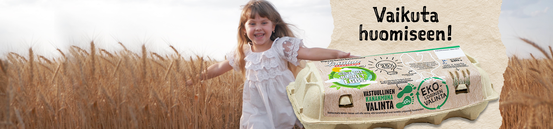 Vastuullinen Valinta – Save the Planet Eggs